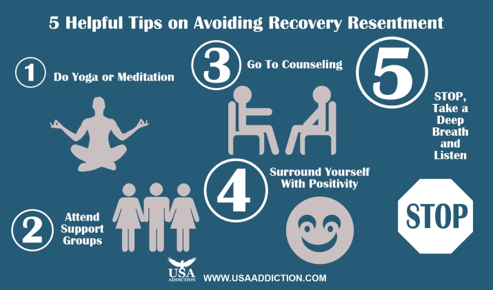 5 helpful tips on avoiding recovery resentment