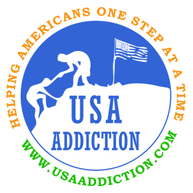 USA addiction logo
